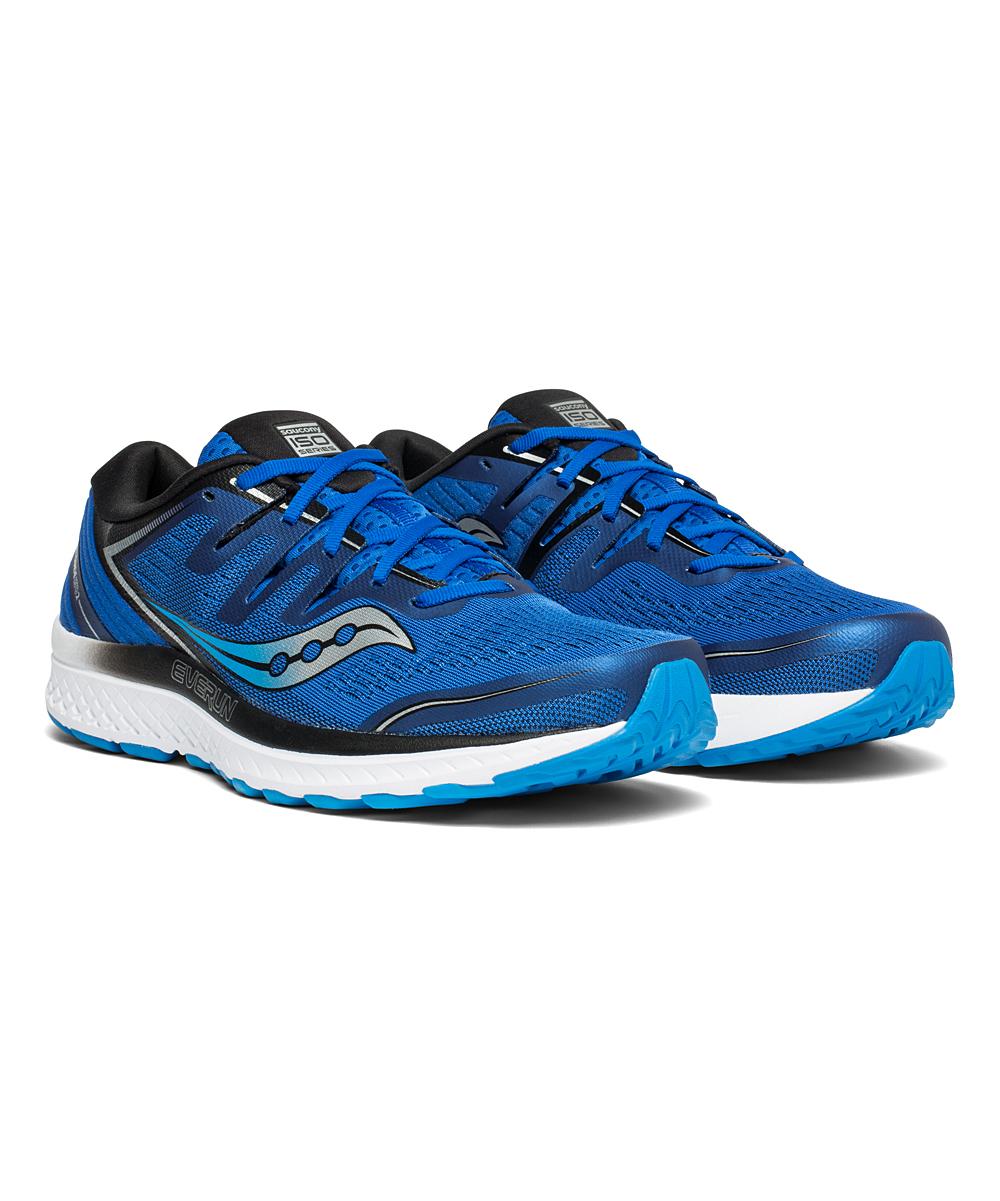 Saucony Men's Running Shoes BLU - Blue & Black Guide ISO 2 Running Shoe - Men