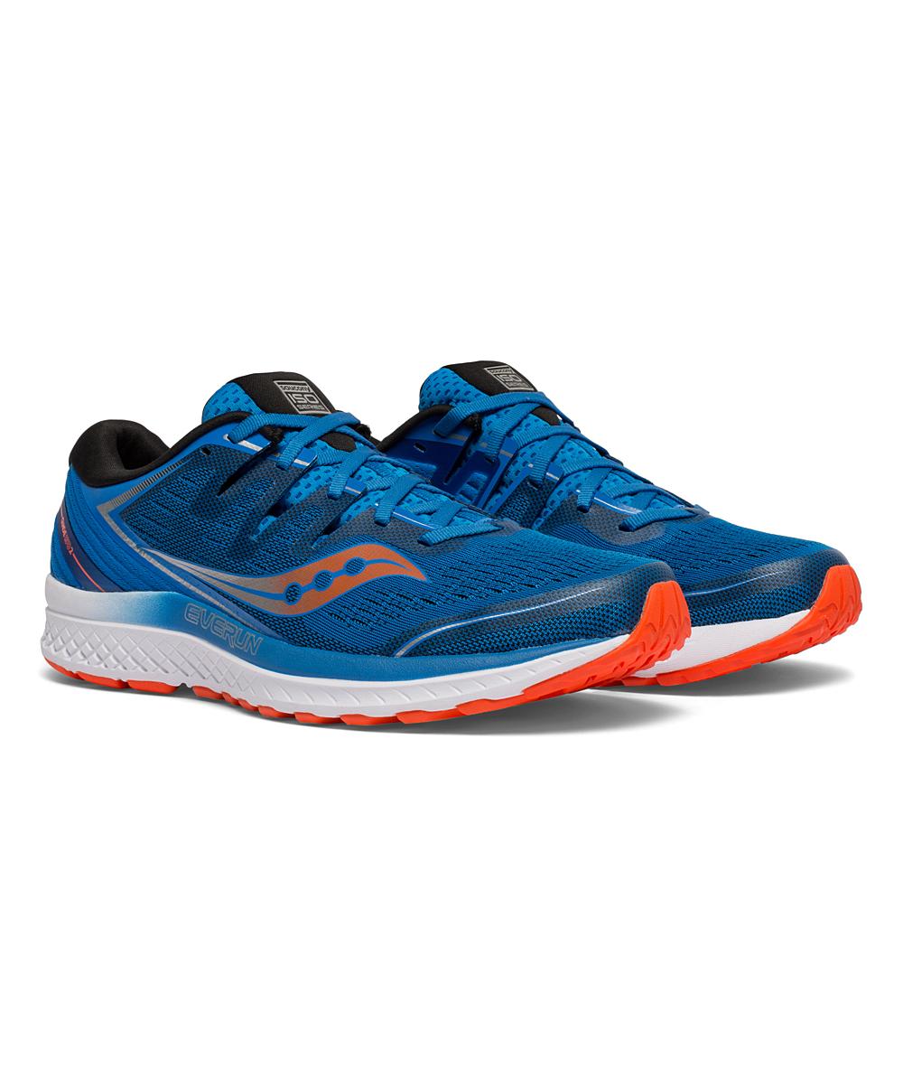Saucony Men's Running Shoes BLUE/ORANGE - Blue & Orange Guide ISO 2 Running Shoe - Men