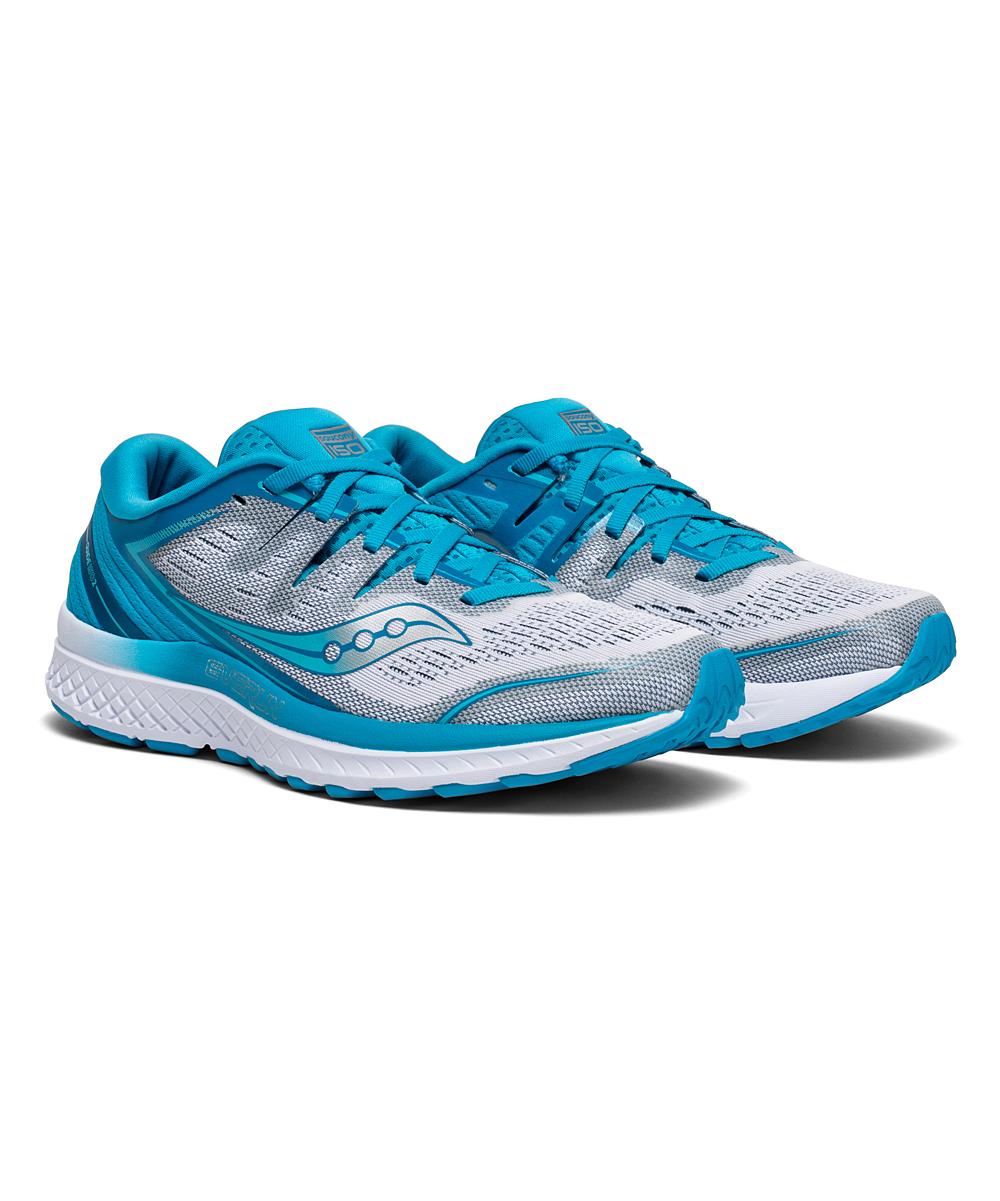 Saucony Women's Running Shoes BLUE - Blue & White Guide ISO 2 Running Shoe - Women