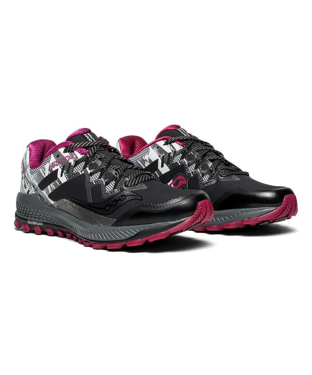 Saucony Women's Running Shoes ICE+ - Blue & Black Peregrine 8 ICE Running Shoe - Women