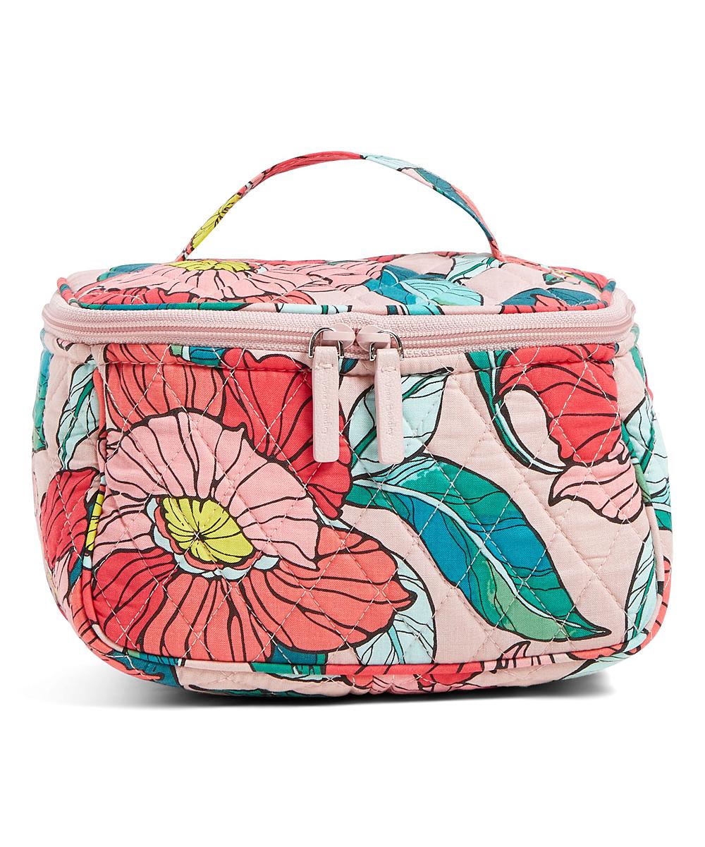 8d5f43fe27a9 Vera Bradley Vintage Floral Travel Cosmetic Bag