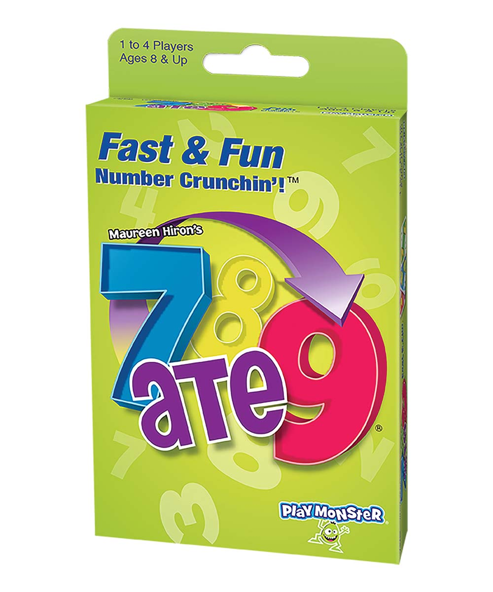 PlayMonster  Math Education Toys  - 7 Ate 9 Card Game