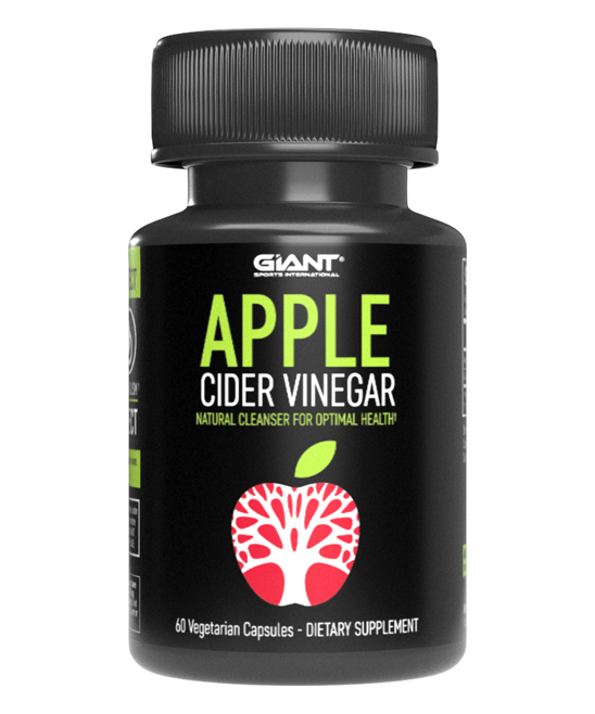 Giant Sports  Protein Powders  - Apple Cider Vinegar Capsules