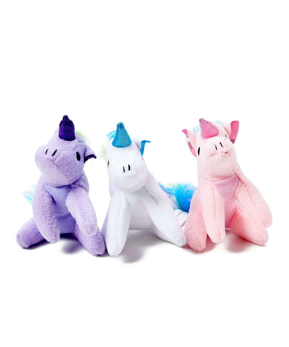 Snugarooz  Chew Toys Rainbow - Magical Unicorn Plush Dog Toy