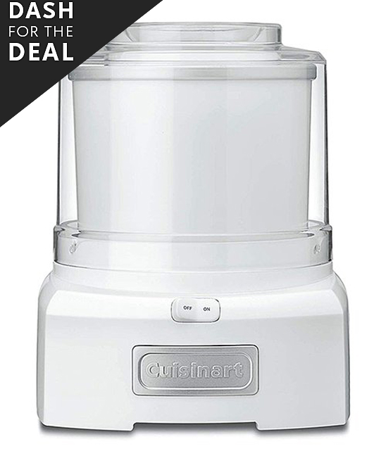 Cuisinart  Ice Cream Makers White - White Ice Cream Maker White Ice Cream Maker. Effortlessly turn your favorite ingredients into a sweet ice cream or a flavorful sorbet in just twenty minutes with this ice cream maker.Holds 1.5  qt.Plastic / metal / anodized aluminum / polypropylene / brine solutionMinimal assembly requiredHand washImported
