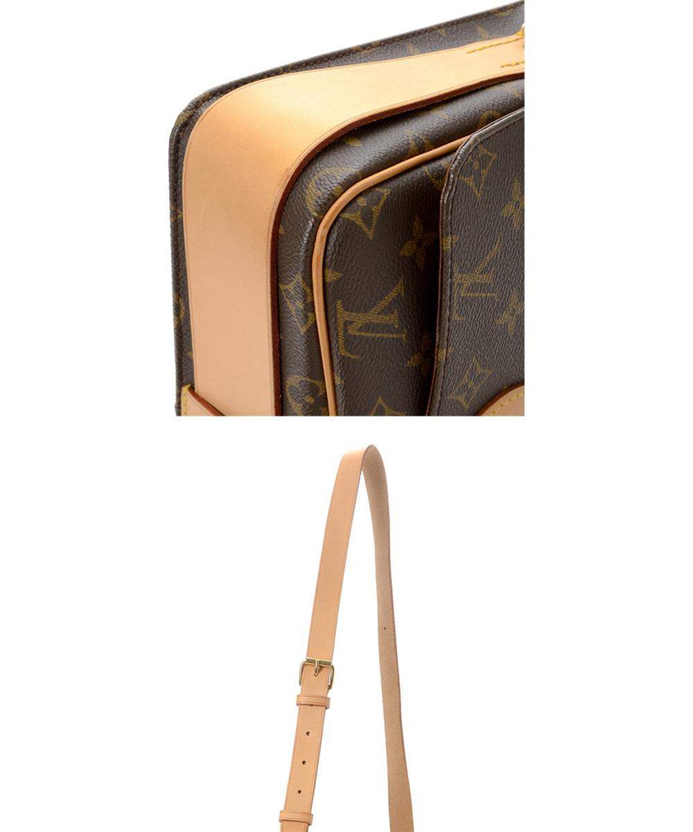 e906d79e0719 ... Womens Brown Pre-Owned Brown Monogram Cartouchiere GM Crossbody Bag -  Alternate Image 2 ...