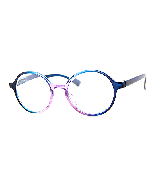 A.J. Morgan Women's Reading Glasses BLUE/PURPLE - Blue & Purple Yochai Readers