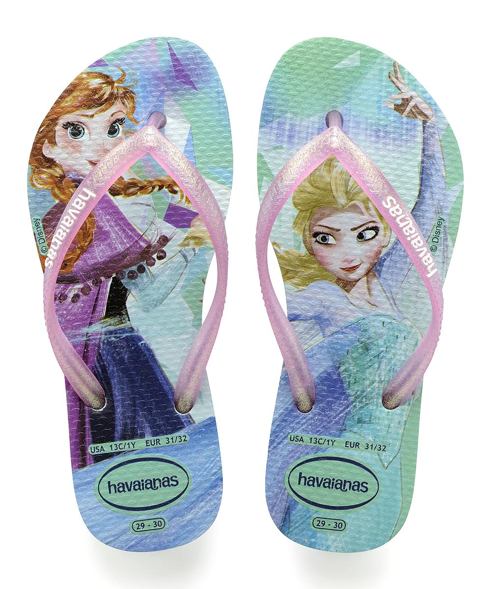 33453f3971f3c Havaianas Disney Frozen Elsa & Anna Flip-Flop - Girls | Zulily