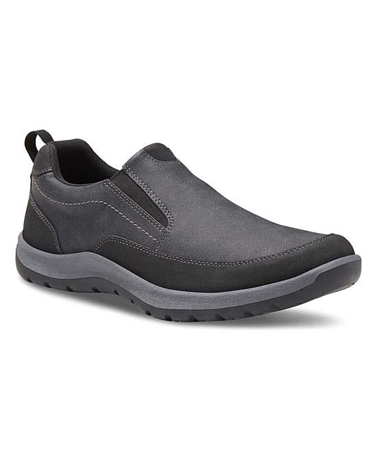 Eastland Men's Sneakers BLACK - Black Spencer Sport Slip-On Sneaker - Men