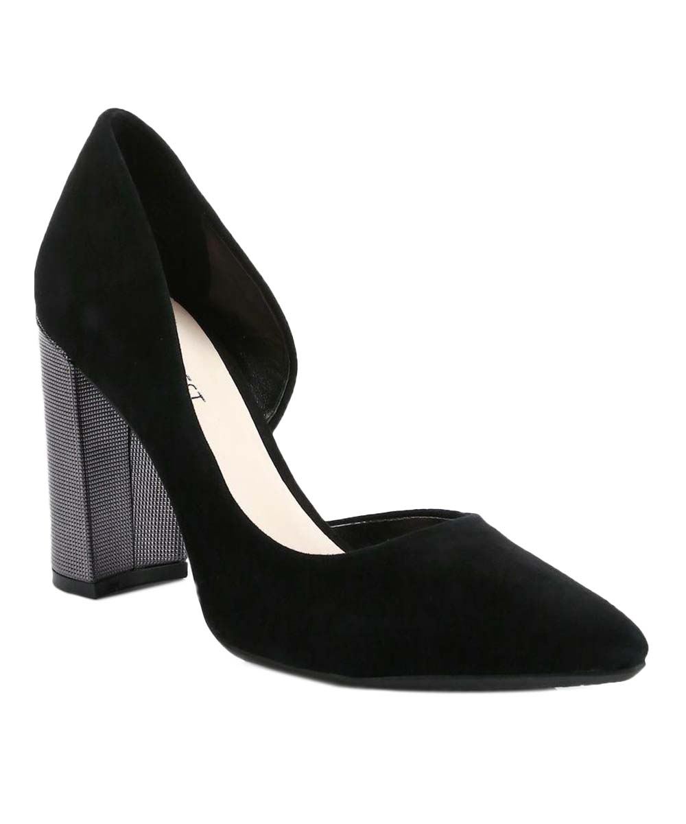8bf00a62f3 Nine West Black Anisa Half-Dorsay Pump - Women | Zulily