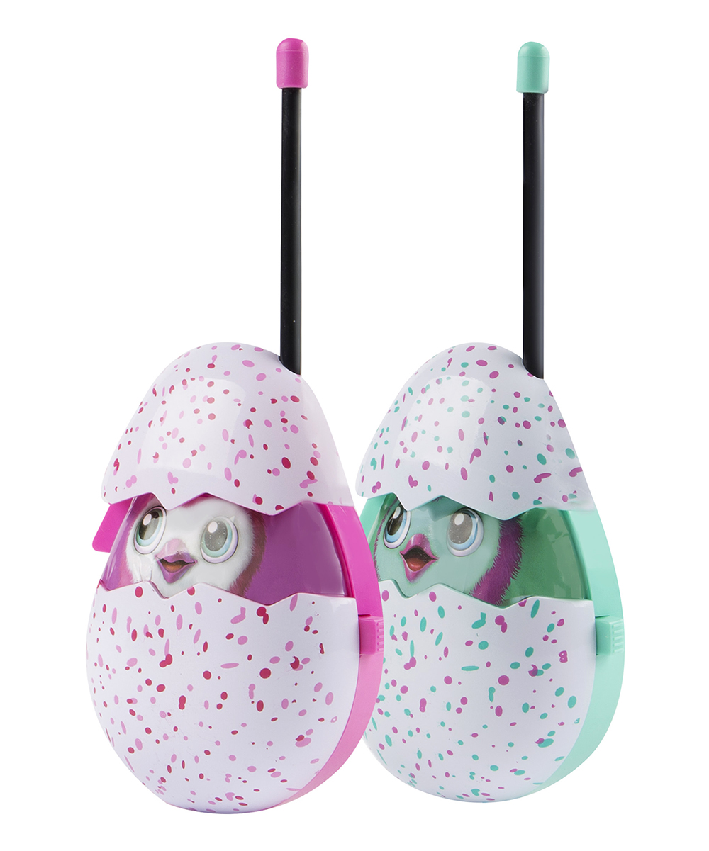 Sakar  Toy Pretend Electronics  - Hatchimals Molded Walkie-Talkies