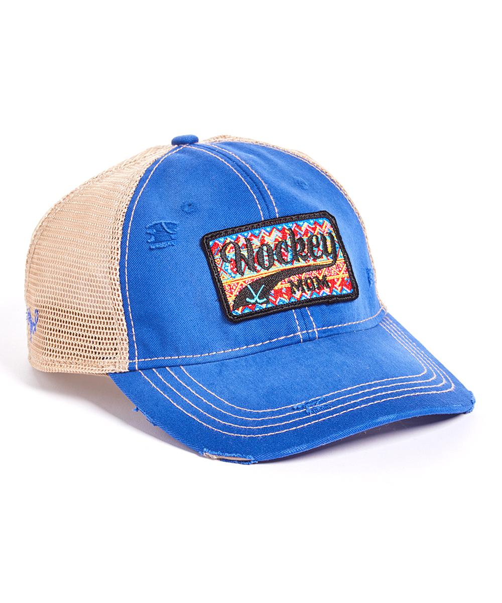 5e5ff6b61 Judith March Royal 'Hockey Mom' Trucker Hat