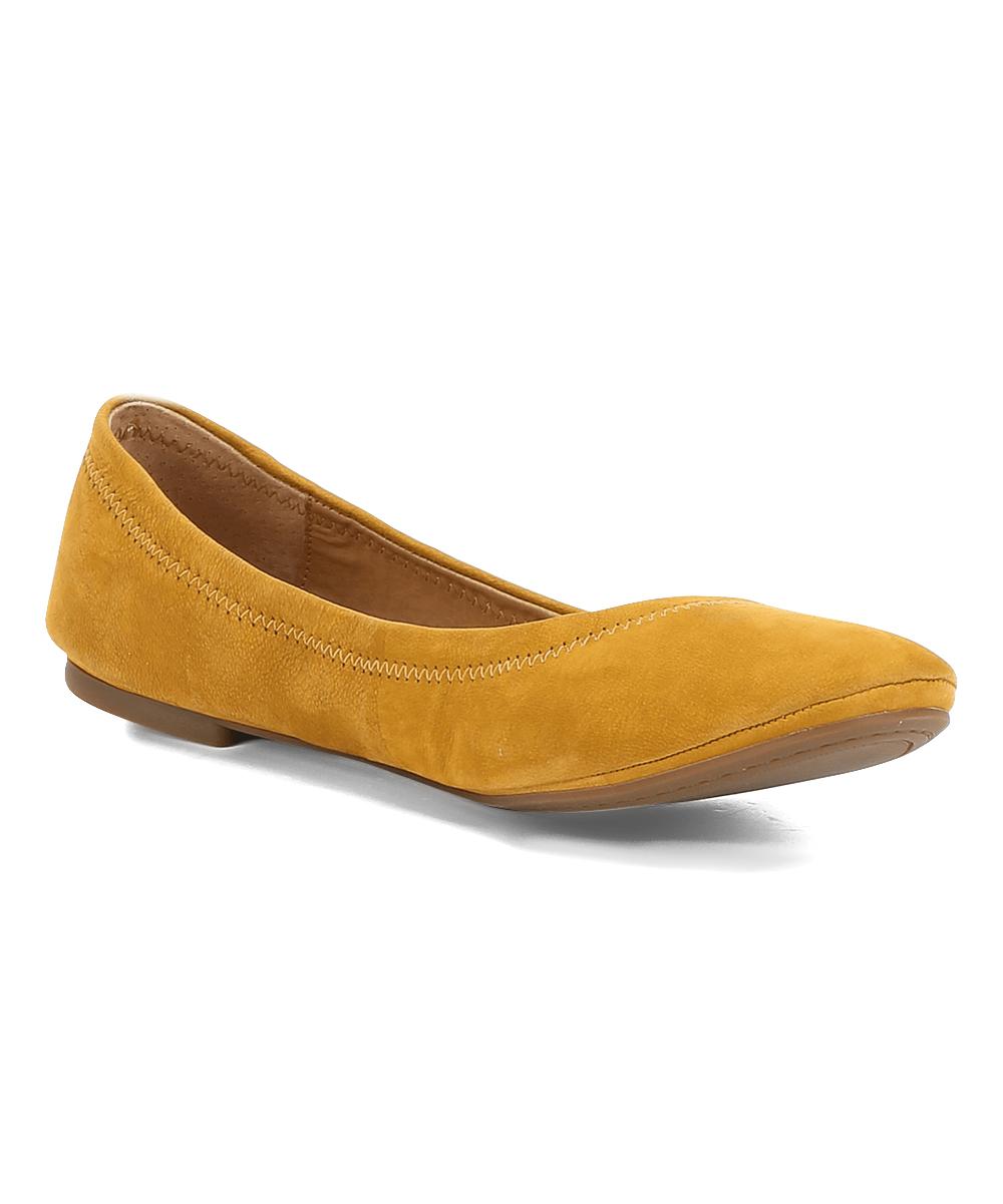 81e0022d7 Lucky Brand Ochre Emmie Flat - Women   Zulily