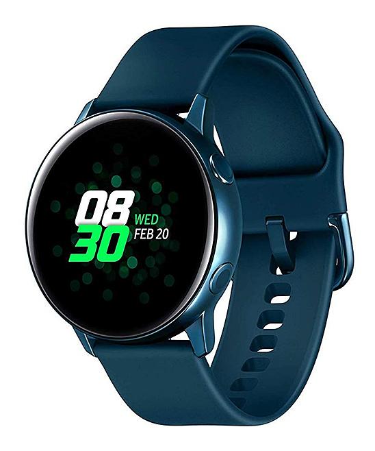 Green Samsung Galaxy Active Watch