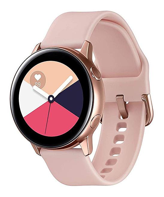 Rose Goldtone Samsung Galaxy Active Watch