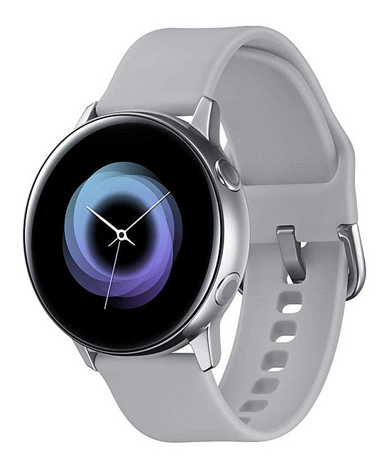 Silver Samsung Galaxy Active Watch