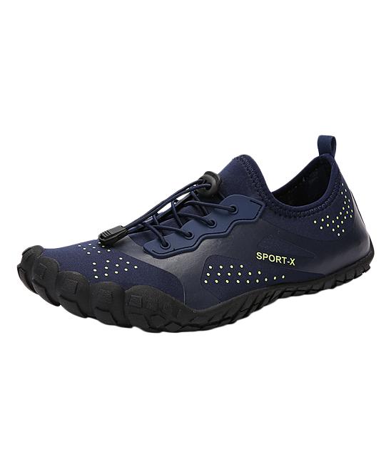 Sport-X Women's Water shoes Navy - Navy & Black 'Sport-X' Water Shoe - Women