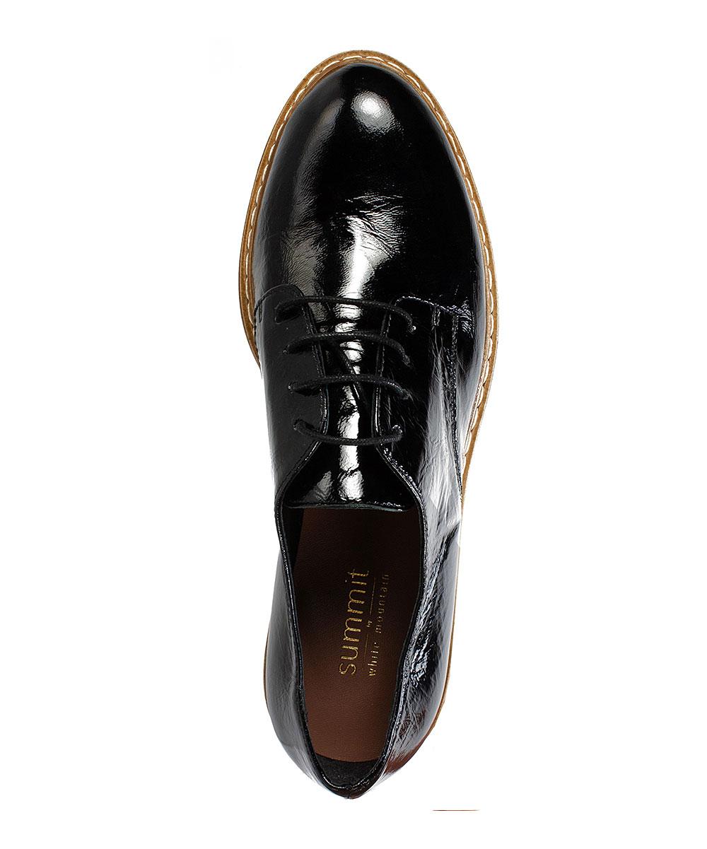 cd5e9a56e8390 ... Womens BLACK/PATENT-17 Black Bethel Patent Leather Oxford - Alternate  Image 3 ...