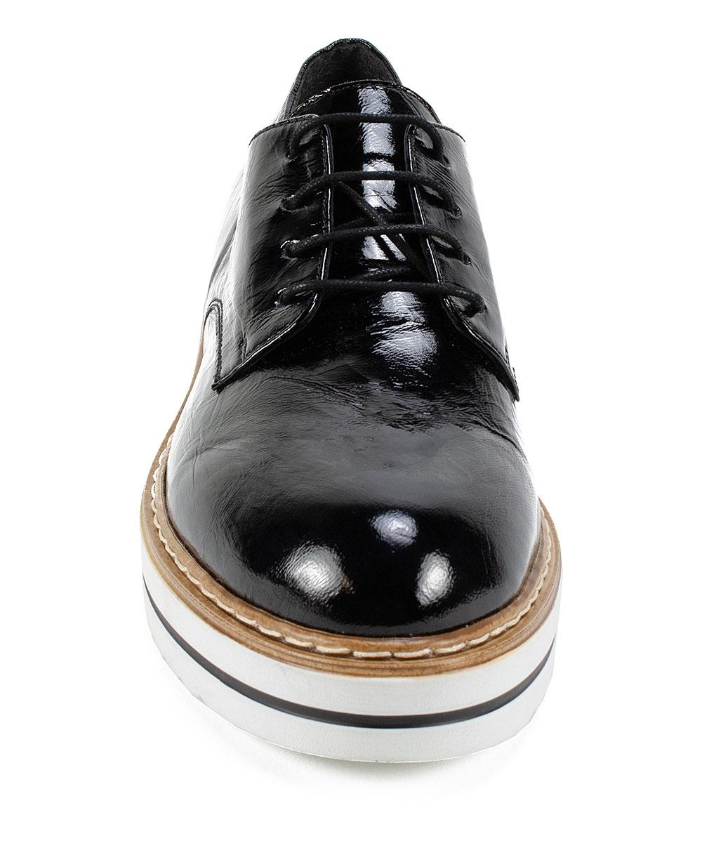 c814ad455117d ... Womens BLACK/PATENT-17 Black Bethel Patent Leather Oxford - Alternate  Image 4 ...