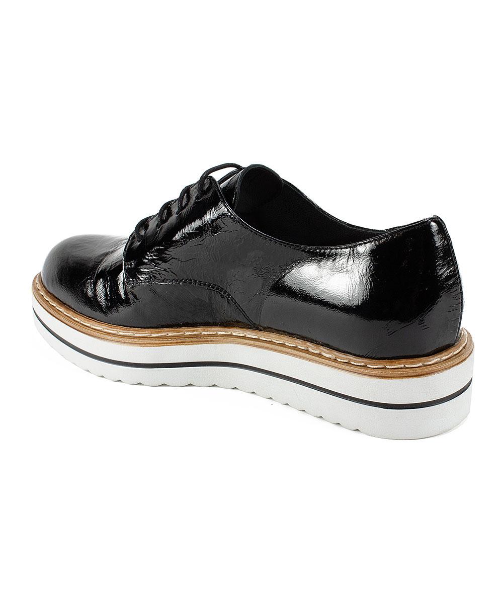 4035db4483d75 ... Womens BLACK/PATENT-17 Black Bethel Patent Leather Oxford - Alternate  Image 5