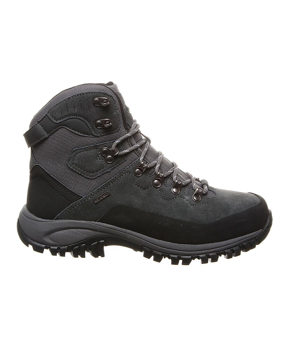 34f6ddc0df2 BEARPAW Charcoal Traverse Waterproof Suede Hiking Shoe - Men