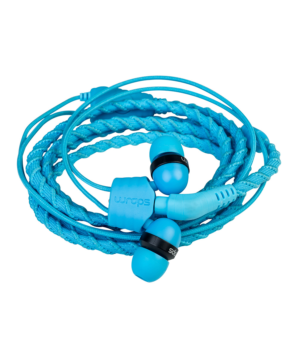 Talk Lagoon Braided Wristband In-Ear Headphones
