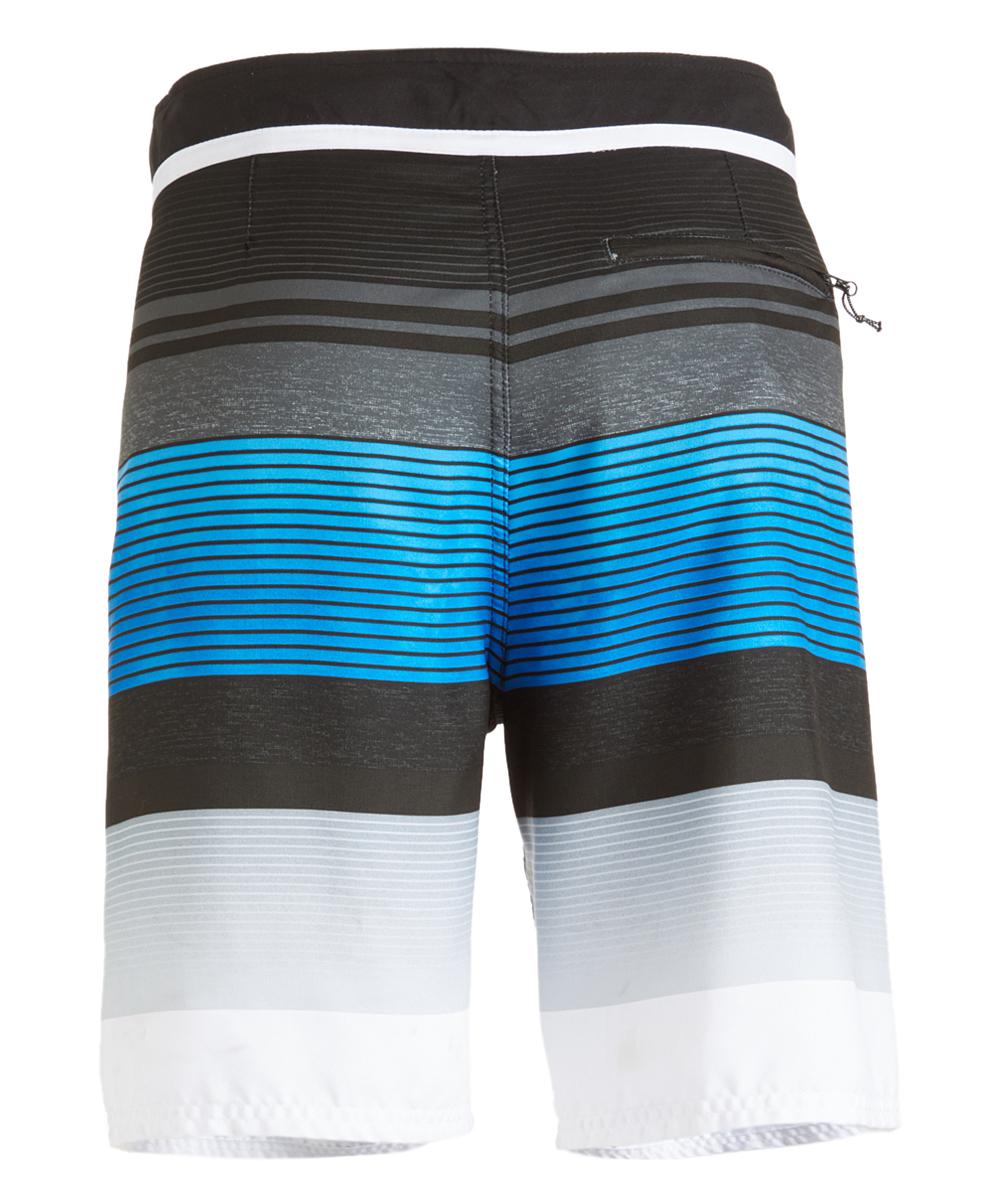 64a055bd2e love this product Blue & Black Stripe Boardshorts - Men