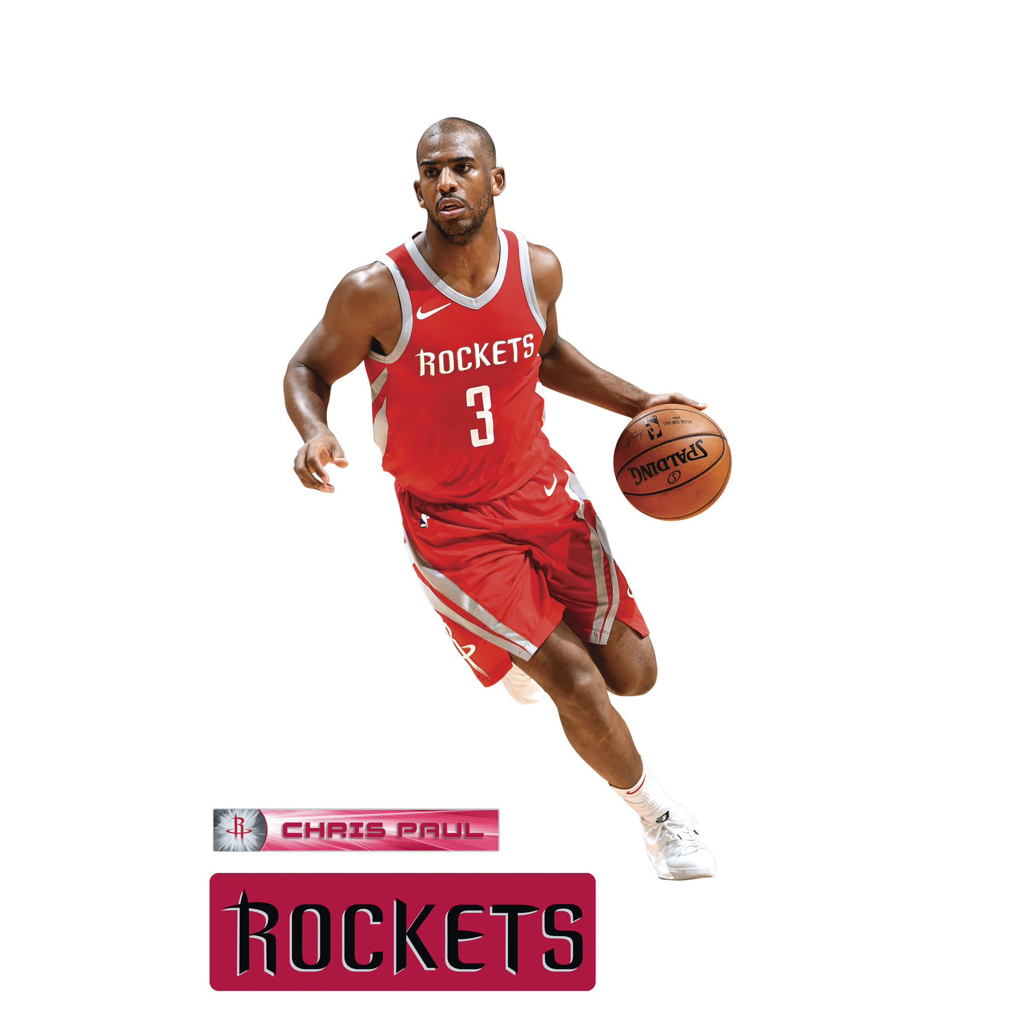 91611035352 love this product Fathead Houston Rockets Chris Paul X-Large Decal Set