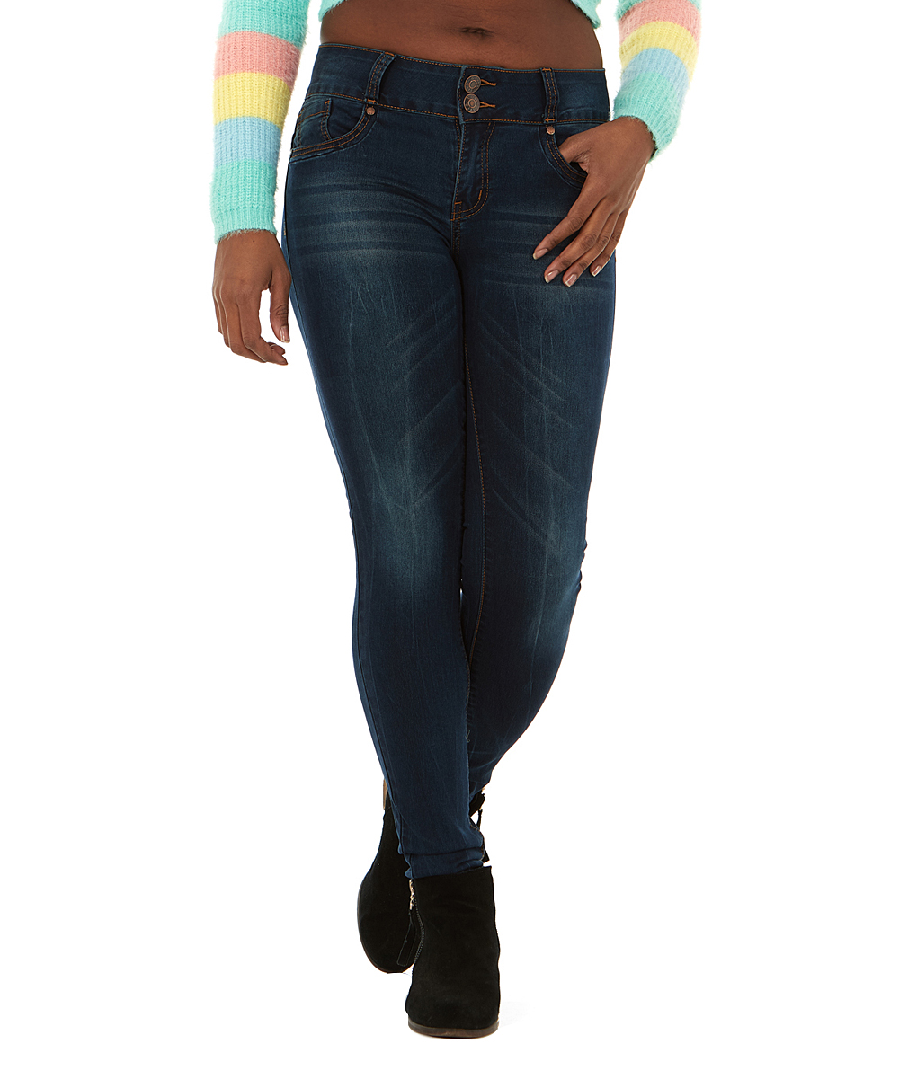 f613f77a5b Cover Girl Jeans Electric Dark Denim Skinny Jeans - Juniors