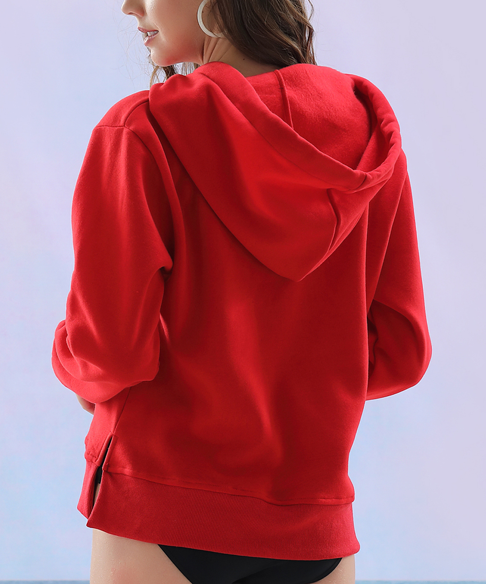 3976b88e Z Avenue Red Beach Hoodie - Women & Plus | Zulily