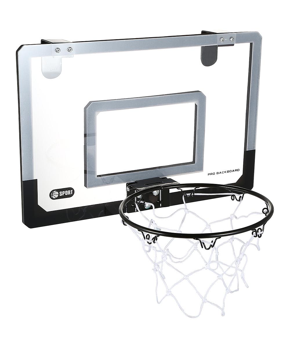 All Gone. Black U0026 Gray Over The Door Mini Basketball Hoop