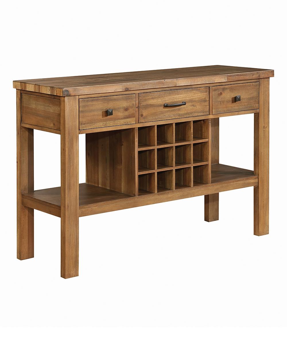 Tucson Three-Drawer Server Cabinet