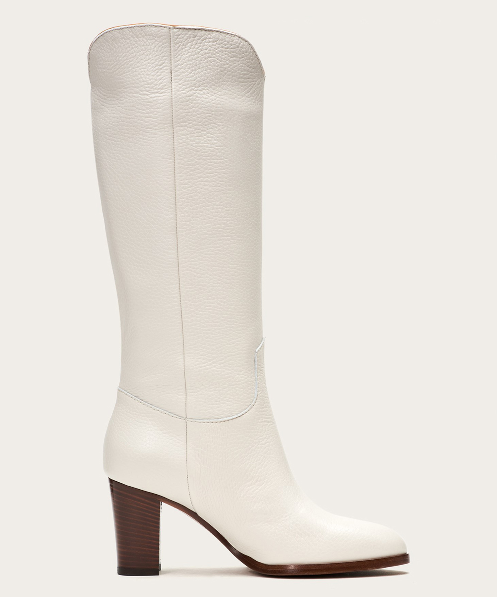 dad3c53c462 ... Womens WHITE MULTI White June Flame Tall Leather Boot - Alternate Image  3 ...