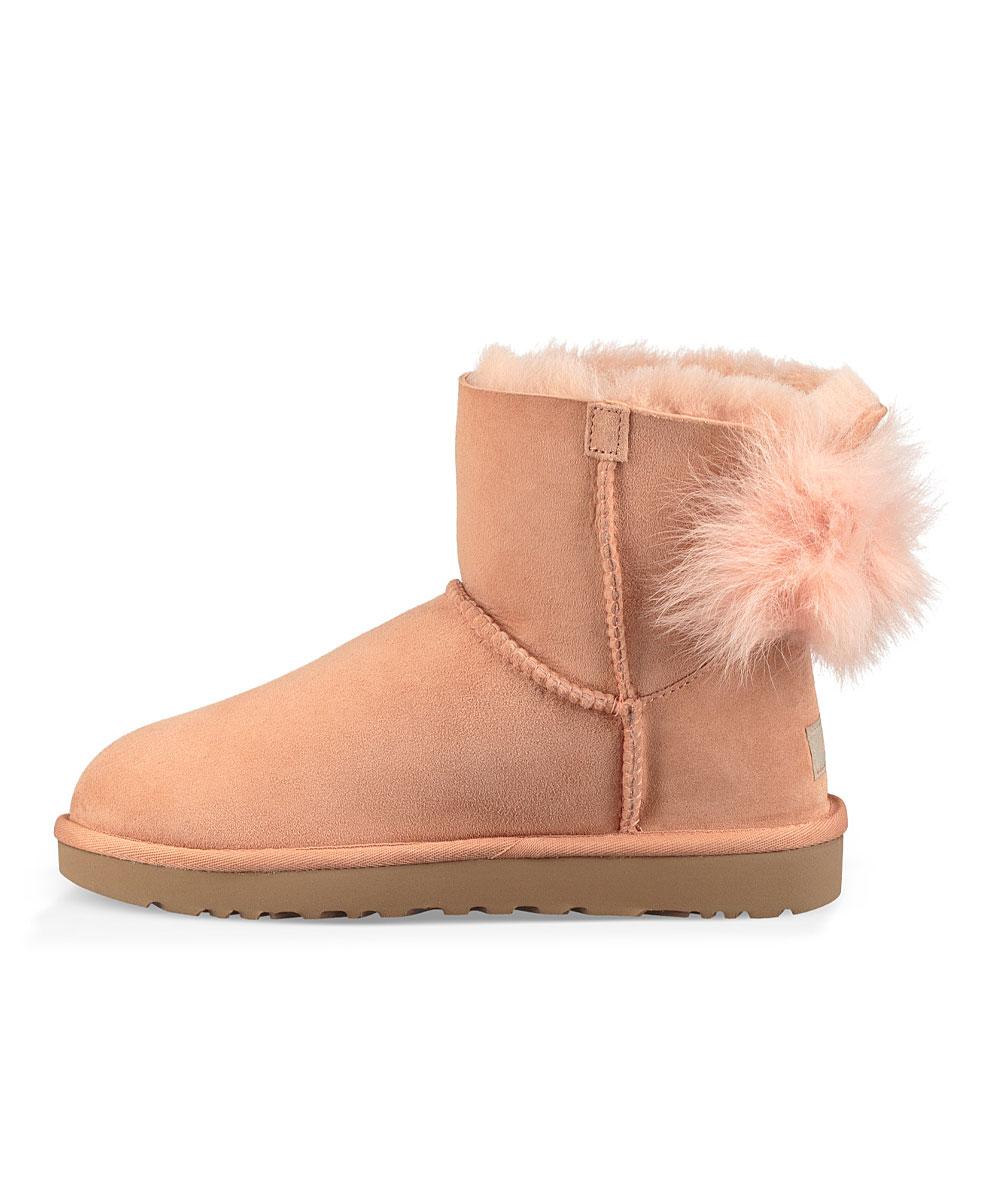 e0b729541af UGG® Suntan Fluff Bow Suede Boot - Women