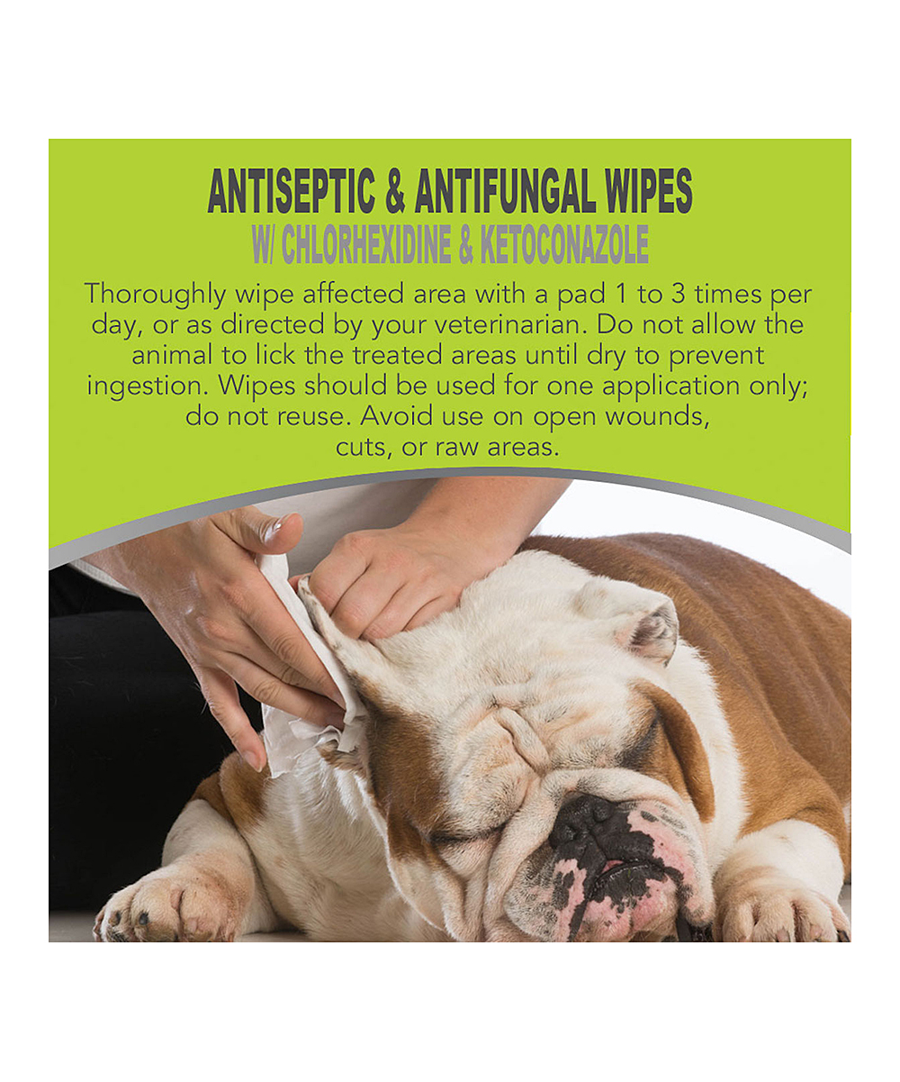 ZPAW Antiseptic Wipes For Dogs, Cats & Horses