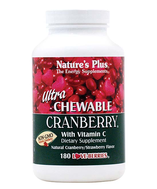 180-Ct.Chewable Cranberry Love Berry Tablets