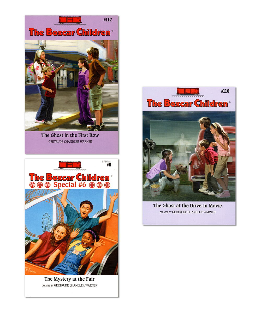 Read e-book The Ghost in the First Row (The Boxcar Children