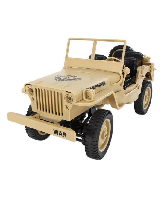 CIS Associates  Remote Control Toys  - Tan Remote Control Jeep