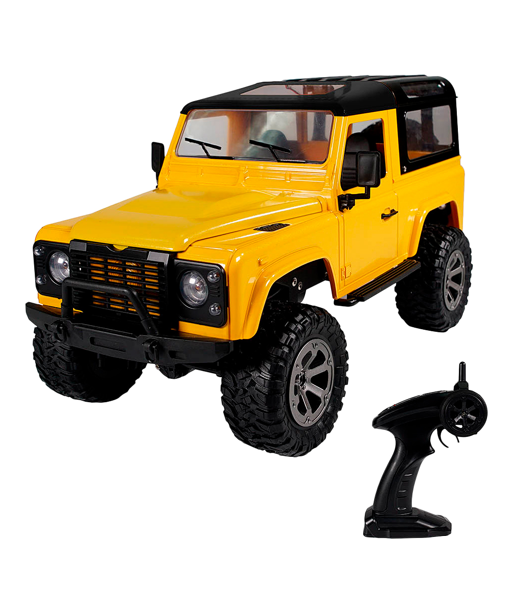 CIS Associates  Remote Control Toys  - Yellow Remote Control Suv Truck