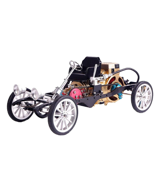 CIS Associates  Remote Control Toys  - Aluminum One-Cylinder Engine Model Car Kit