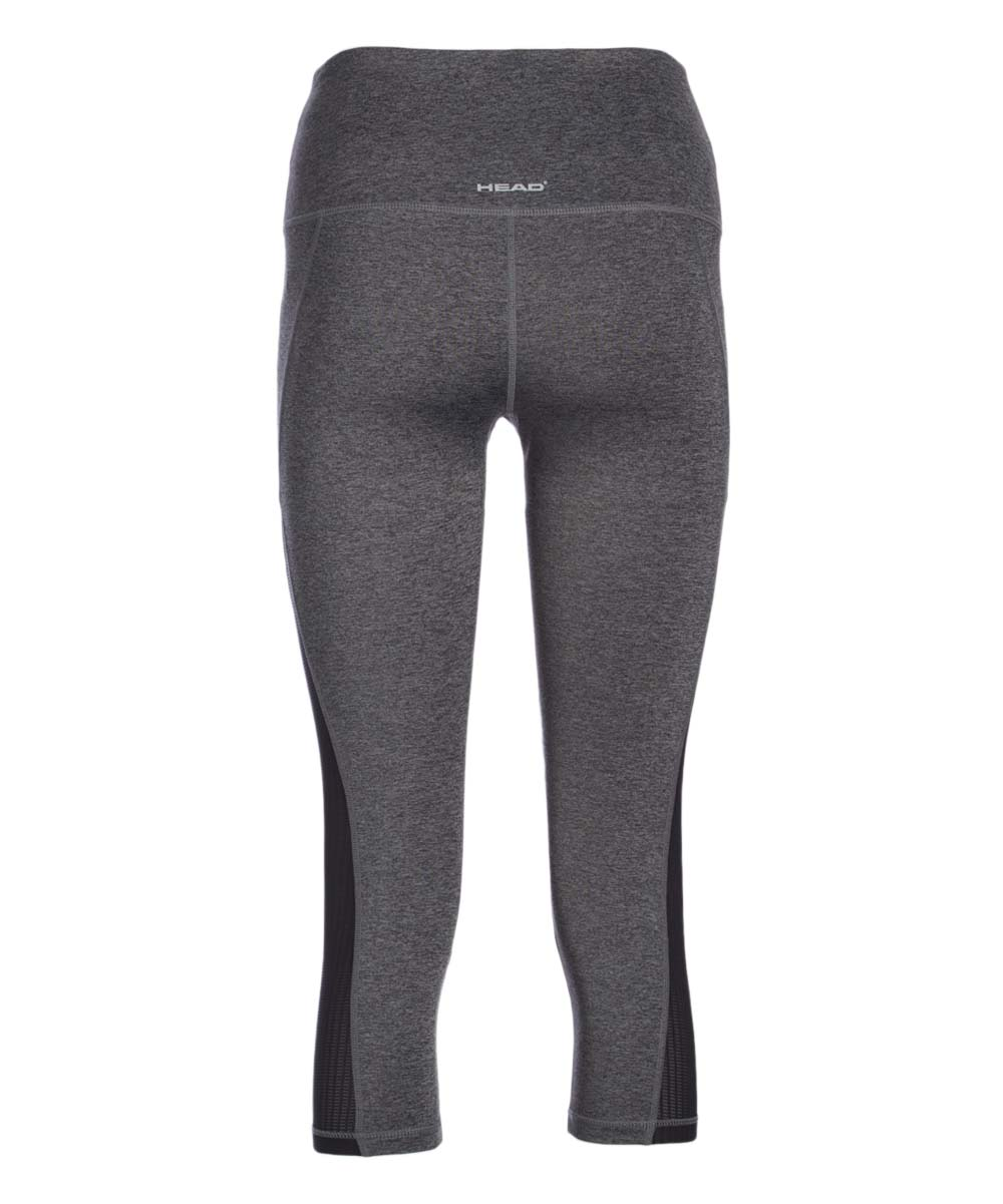 be5cc6c70448c love this product Charcoal Heather Face Off High-Rise Crop Leggings - Women