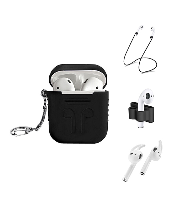 Black Apple AirPods Five-Piece Accessory Set
