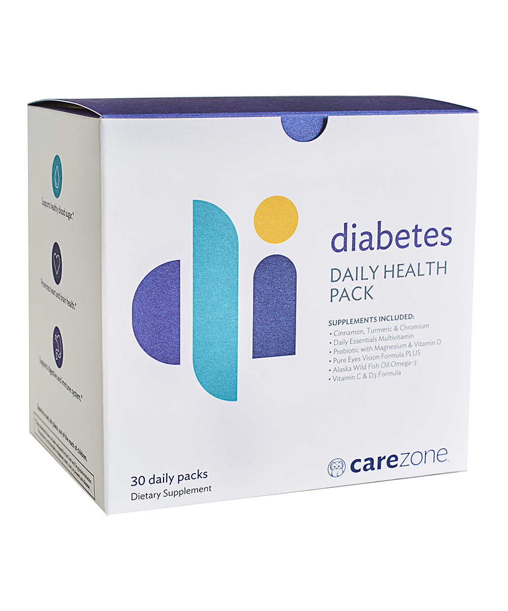 Diabetes Daily Health Pack - 1 Box of 30 Packets