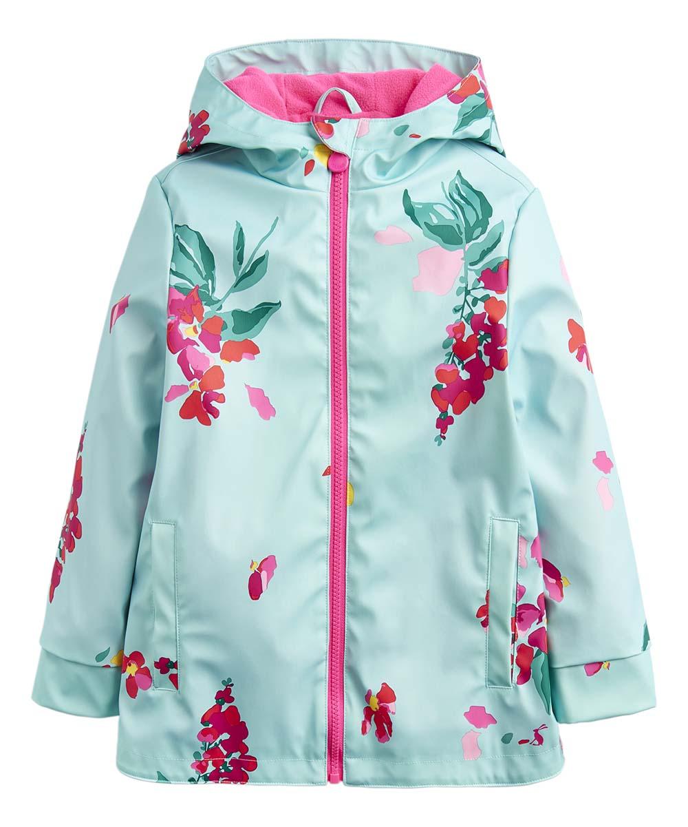 6f4c3a3dc Joules Aqua Floral Raindance Raincoat - Infant, Toddler & Girls | Zulily