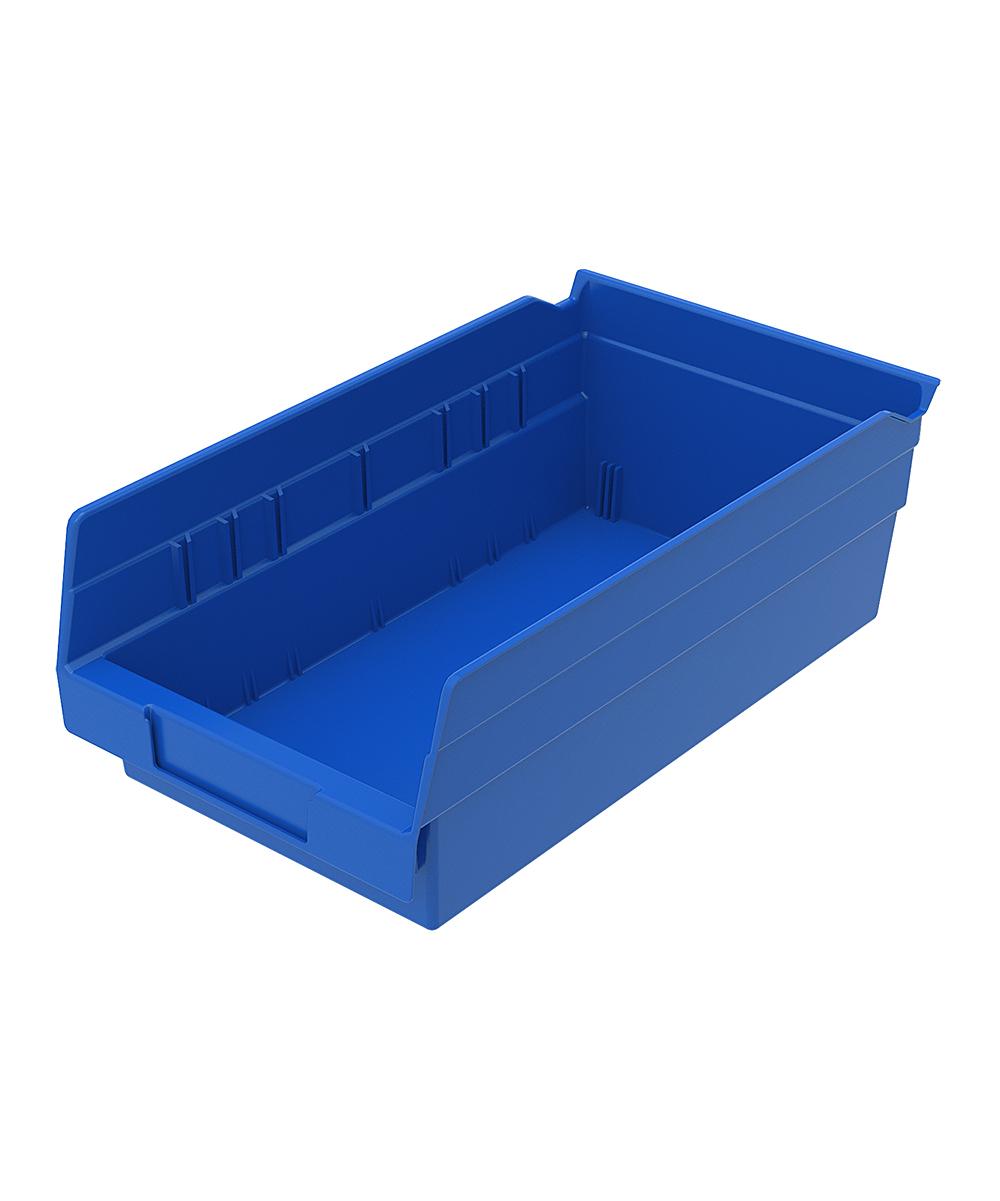 Shelf Bin 11-5/8 x 6-5/8 x 4, Blue