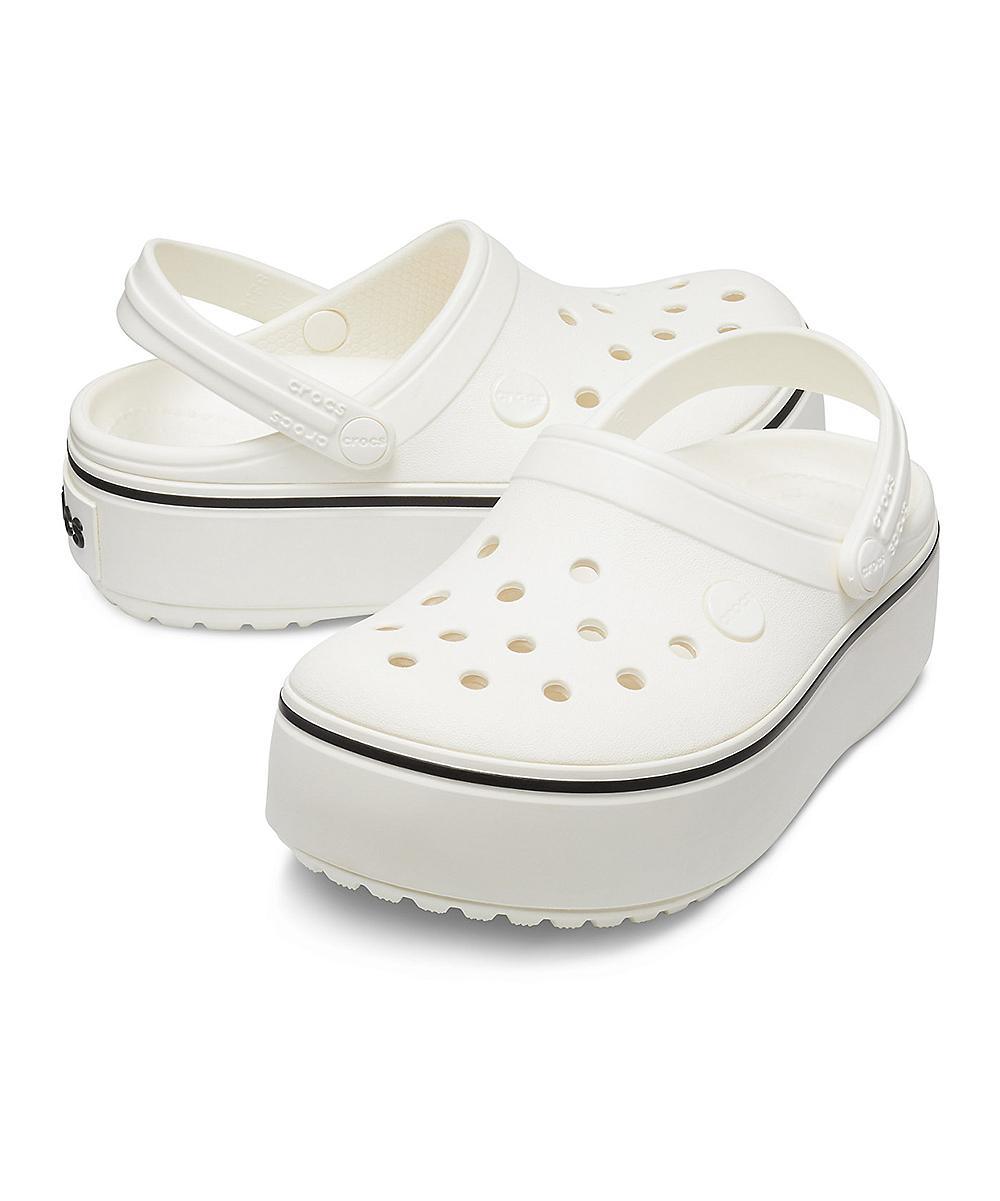 f2ff0b96 love this product White Platform Crocband Clog - Girls