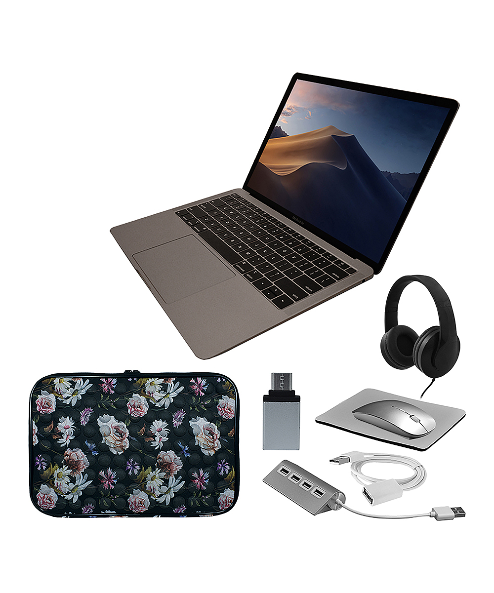 Apple  Laptop Computers  - MacBook Air 13'' & Accessories Set with Floral Laptop Sleeve
