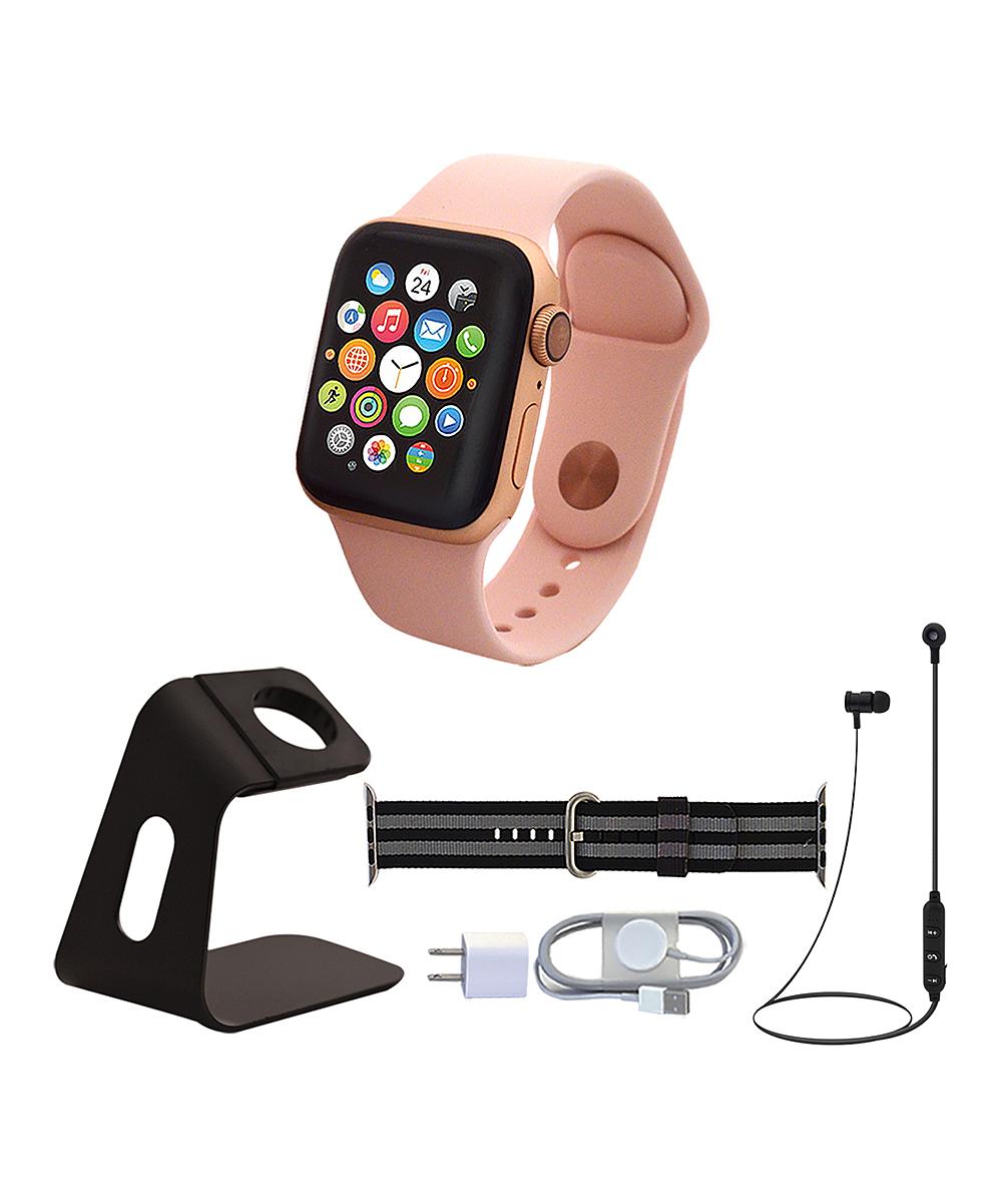 Apple  Smart Watches  - Gold & Black 40-mm GPS Apple Watch Series 5 Set