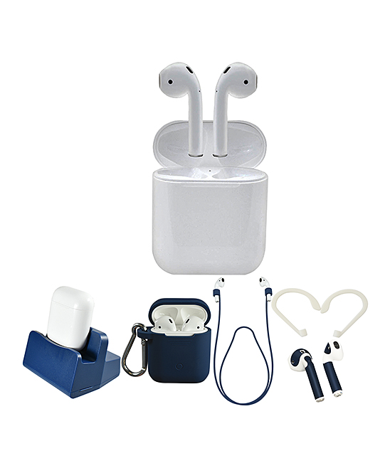 Apple  Headphone Accessories  - White & Blue 2nd Gen. AirPods Set