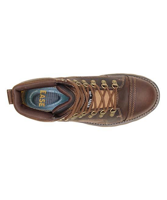 691c6dbbe6d CAT Footwear Worn Brown Waterproof Nano Toe Induction Work Boot - Men